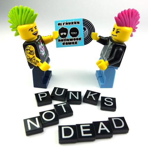 Punk's not Dead by La Petite Brique