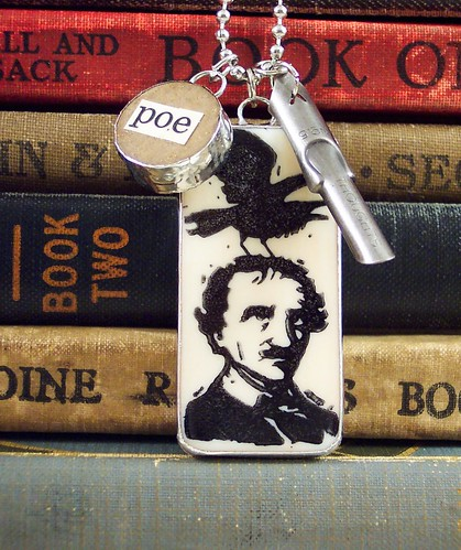 Poe Charm Necklace