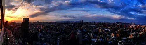 sunset 석양