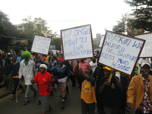 Solidarity March - Mukuru