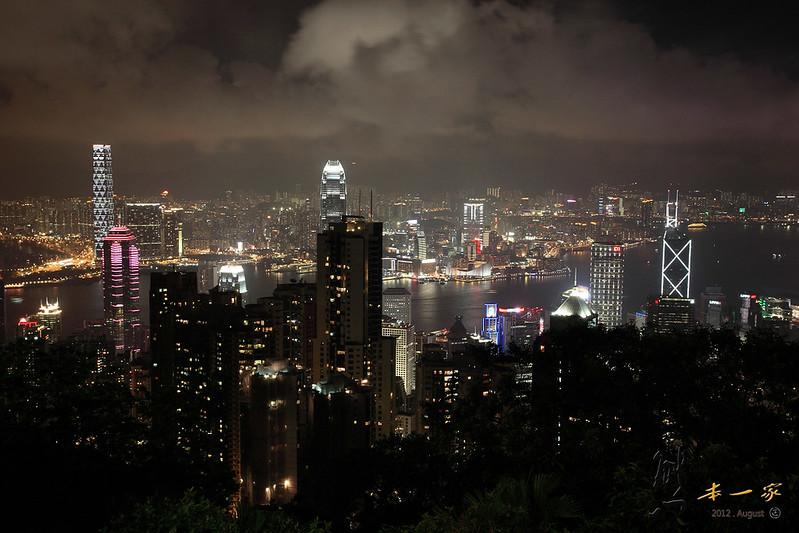 香港太平山頂夜景|杜莎夫人蠟像館