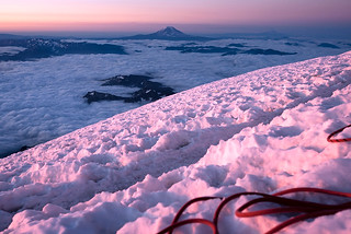 Sunrise from Rainier