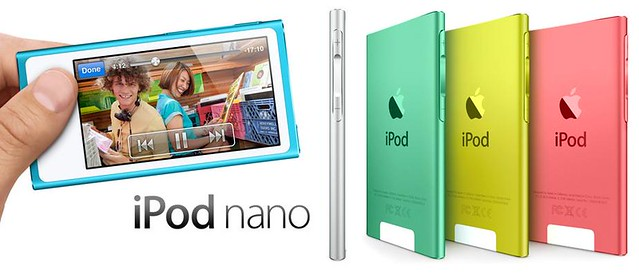 A Closer Look at the new iPod Touch, iPod Shuffle, iPod Nano and EarPods