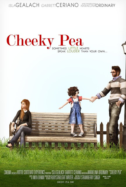 Cheeky Pea - Cinema Poster
