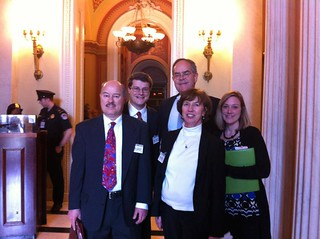 Representative Cooper (5th District) with TPT delegation in 2012