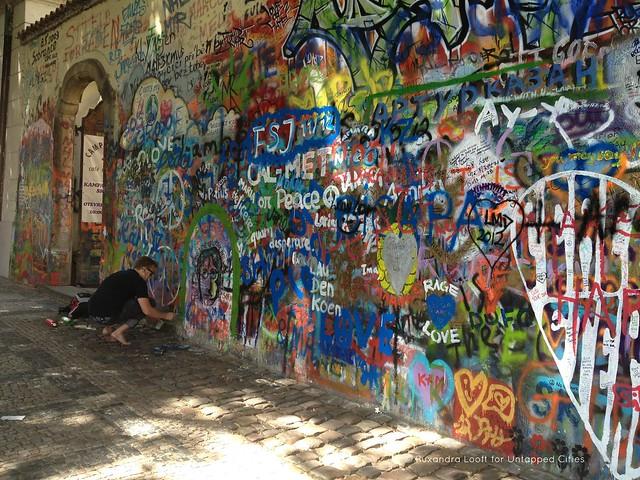 Lennon wall 4