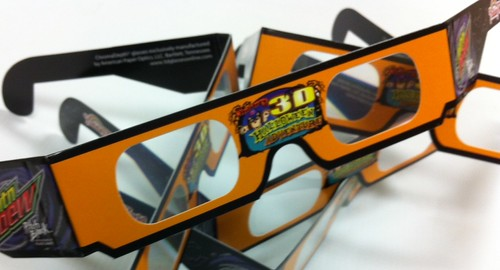 3D glasses for Holidog's 3D Halloween Adventure