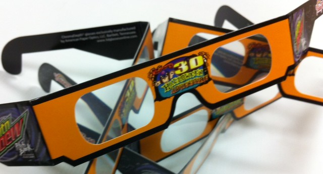 Free glasses for Holidog's 3D Halloween Adventure