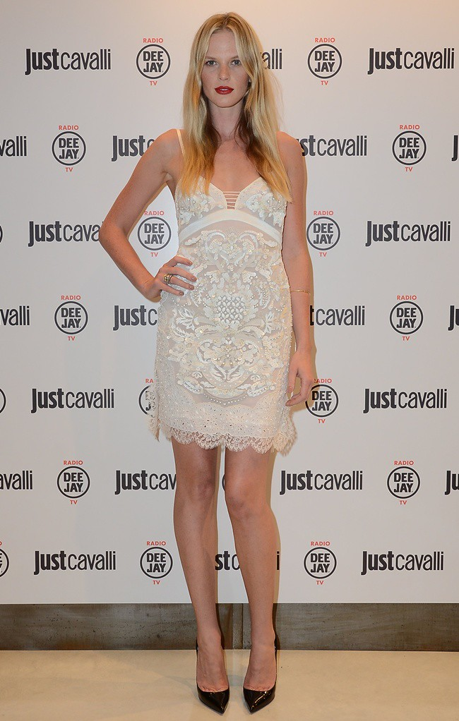 99a Anne Vyalitsyna in Roberto Cavalli  @ Just Cavalli Boutique Opening 21-09-2012 Milan