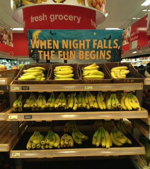 When Night Falls… bananas
