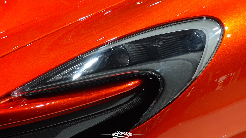 8034742166 6af907b8f4 b eGarage Paris Motor Show McLaren P1 headlight