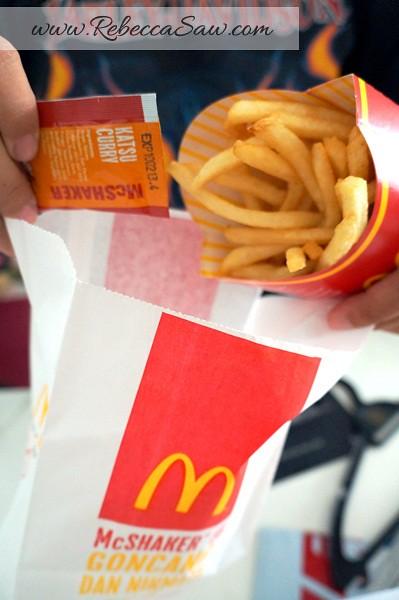 McDonald's Beef Samurai Burger, Sakura McFizz & Katsu Curry - Malaysia. Pork Samurai Burger - Thailand.-003