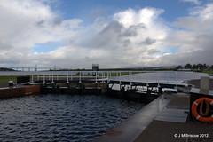 Caledonian Canal, Clachnaharry Sea Lock Basin