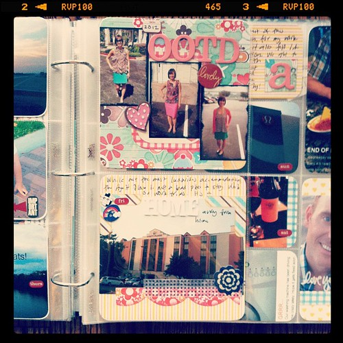#projectlife week 39 insert front side