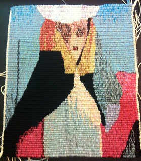 You Always Have the Reservation, woven tapestry by Mardi Nowak