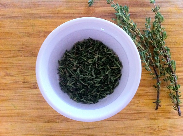 2 Tablespoons Fresh Thyme Leaves
