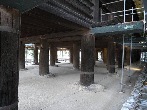 正倉院正倉整備工事現場公開(第2回)-07