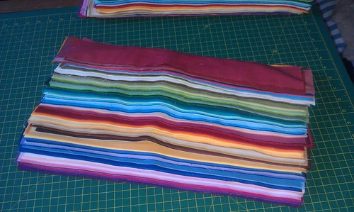Eternity quilt strips