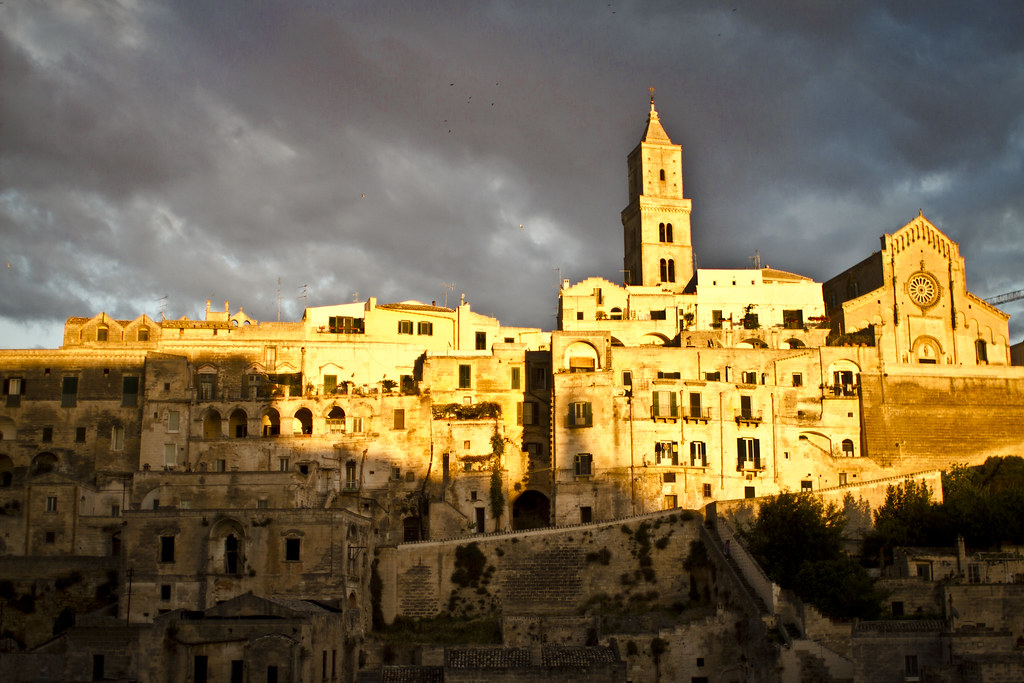 Sassi of Matera in Basilicata, Italy