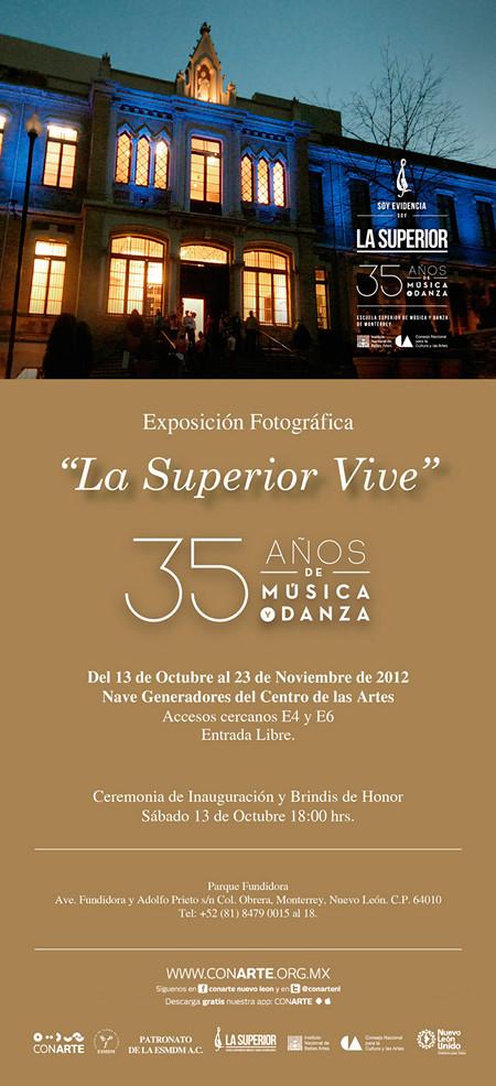 Exposición Fotográfica de la Escuela Superior de Música y Danza