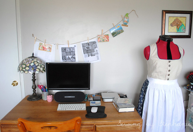 My Sewing Room: Desk and Dressform