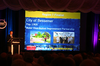 Bessemer competes in 2012 community excellence award competition at