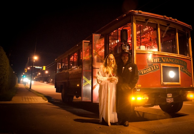 Haunted Halloween Trolley Tour