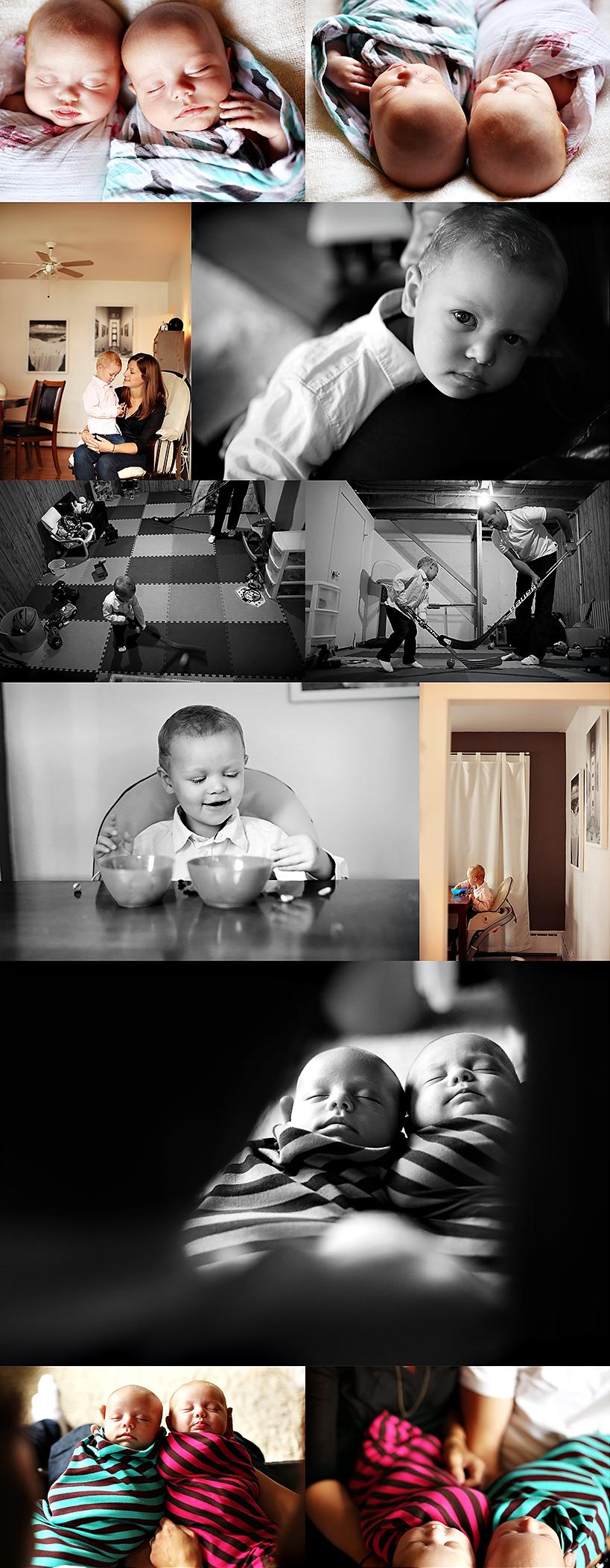 edmonton newborn twins photographer