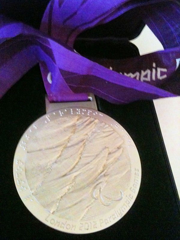 Karen Darke's Paralympic Silver Medal