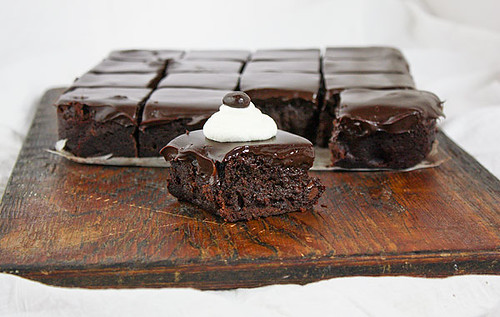 Espresso Chocolate Brownies from Grace's Sweet Life