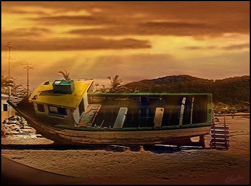 brazil art beach photoshop effects boat photo twilight shining 2012 artdigital awardtree softtextures exoticimage ♣cleide♣ blinkagain netartii galleryoffantasticshots rememberthatmomentlevel1 rememberthatmomentlevel2 rememberthatmomentlevel3