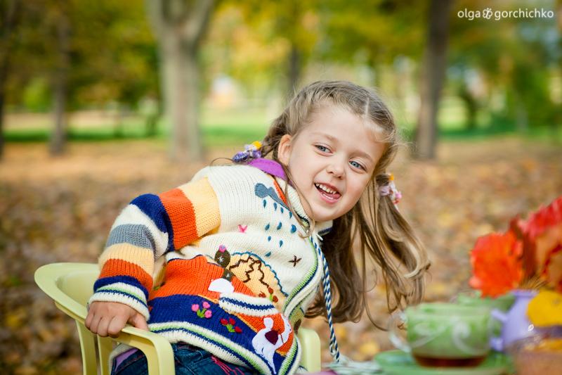 Осенняя фотосессия Софии