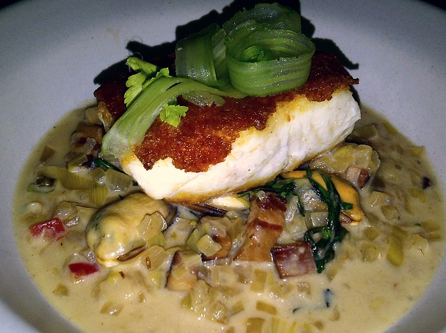 chorizo crusted halibut 3