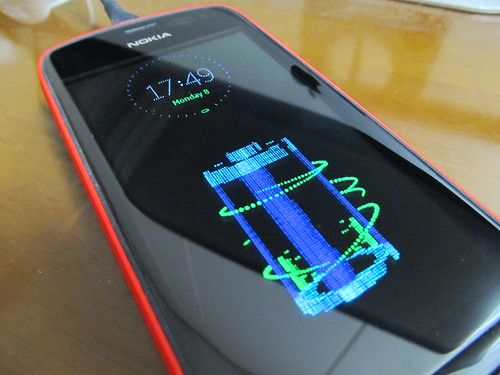 Nokia Sleeping Screen charging