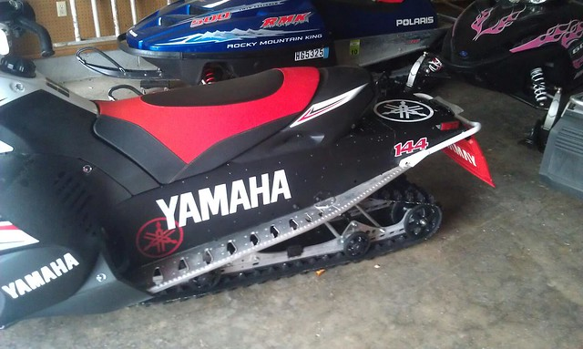 Tunnel wrap complete ty4stroke snowmobile forum for Yamaha nytro tunnel