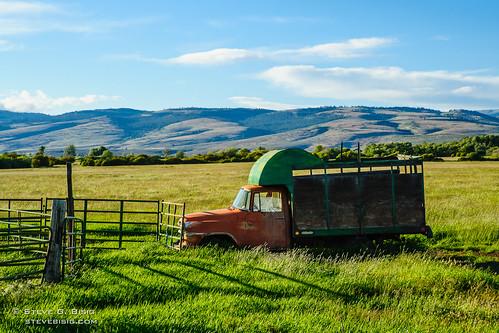 summer rural truck countryside international trucks kittitascounty ih