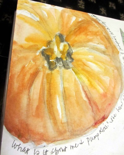 more pumpkins ~ from my sketchbook