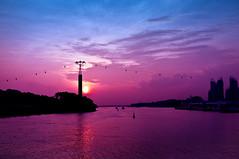 Sentosa Gateway Sunset