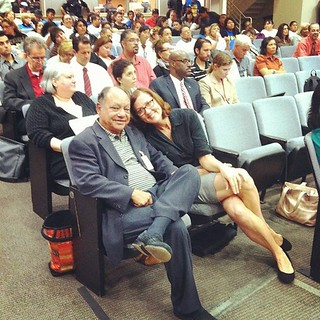 Photo: Cheech Marin and Danielle Brazell