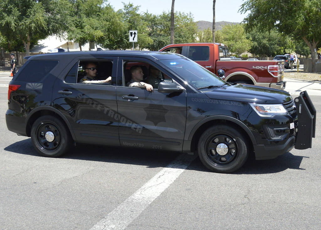 Arizona State Trooper 2016 Ford Explorer Interceptor W G
