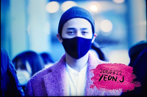 Big Bang - Incheon Airport - 22mar2015 - G-Dragon - J_withG - 01
