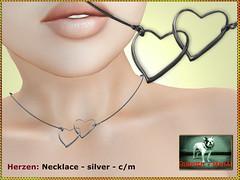 Bliensen - Herzen - Necklace silver