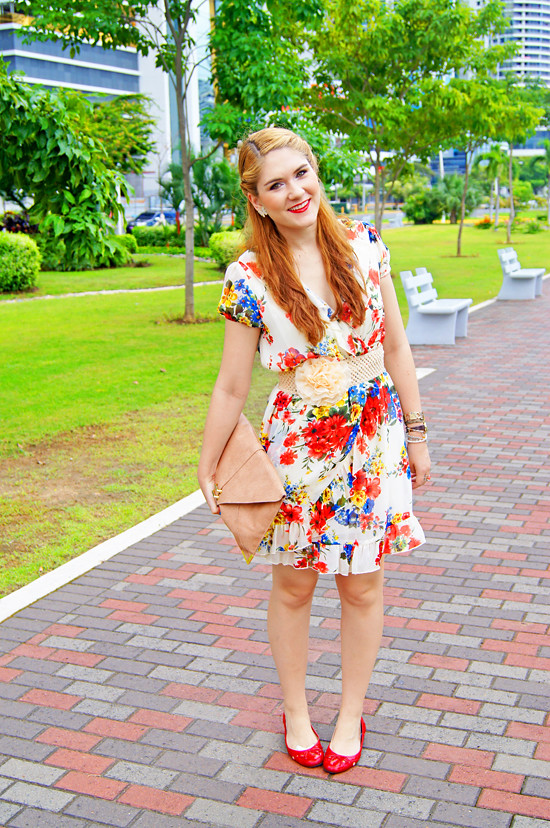 Floral dress by The Joy of Fashion (17)
