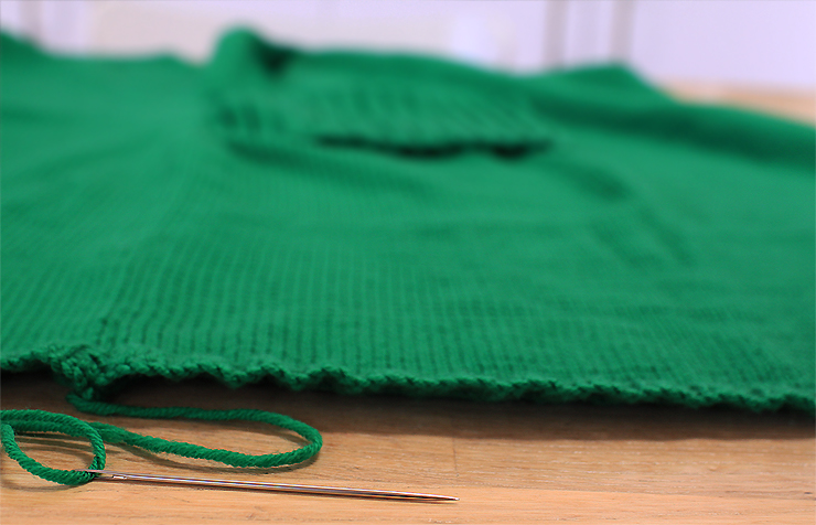 Green Seaming