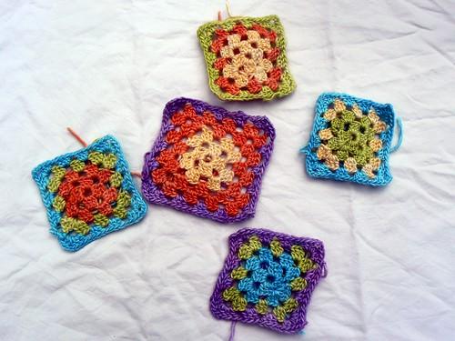 Silky Granny Squares