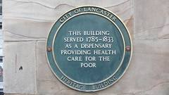 Photo of Dispensary, Lancaster green plaque