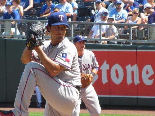 Yu Darvish vs Royals - 9/3/2012