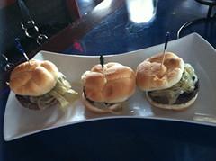 Kobe Beef Sliders, Blu Que Island Grill, Siesta Key, Sarasota, FL
