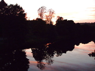 River Calder Sunset