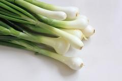 vegetable, produce, food, scallion,